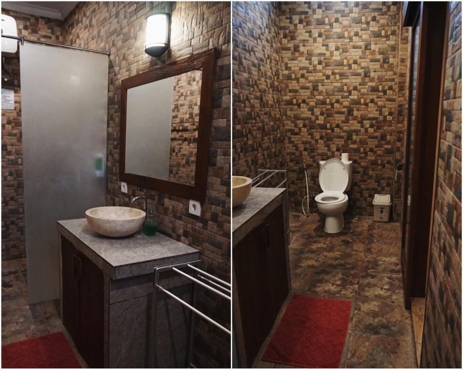 The bathroom situation. Photos: Coconuts Bali