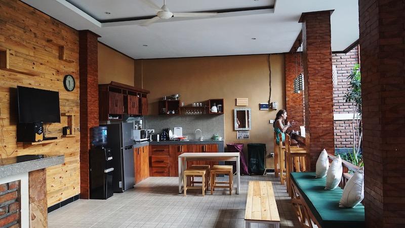 The kitchen. Photo: Coconuts Bali