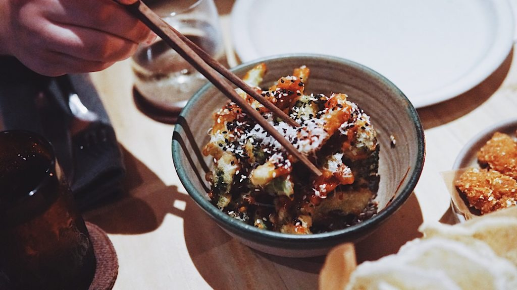 KFB, or Korean fried broccoli. Photo: Coconuts Bali