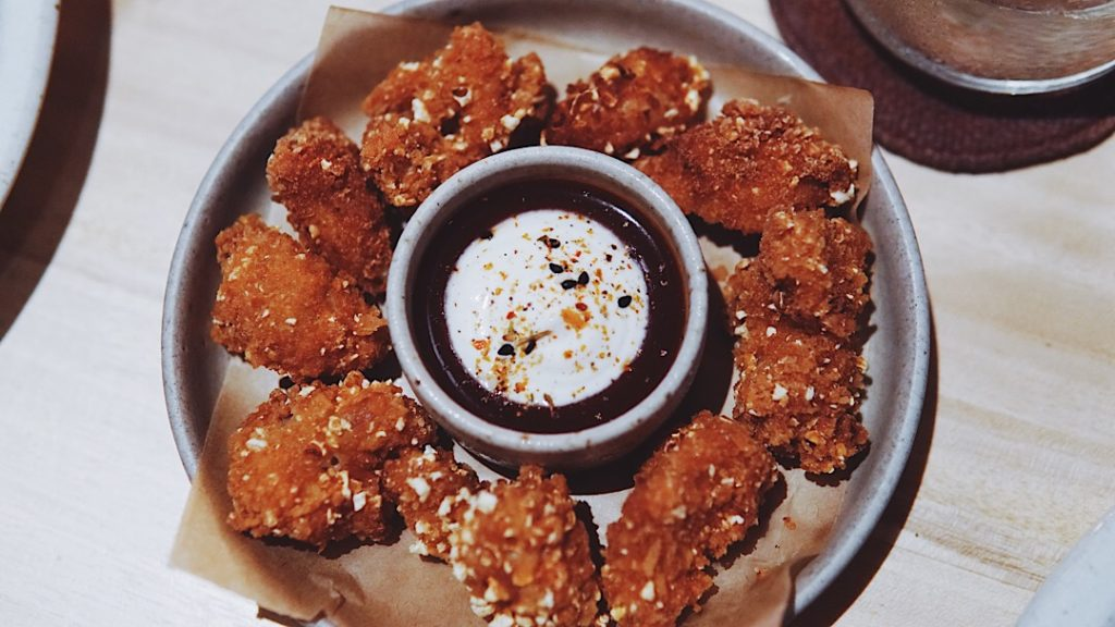 Popcorn Chicken Nuggets. Photo: Coconuts Bali